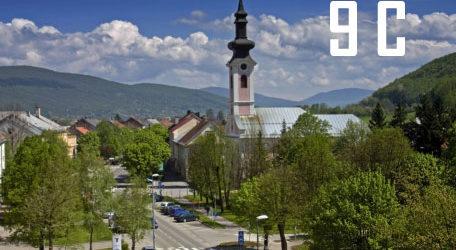 Otočac jutros najhladniji grad u Hrvatskoj