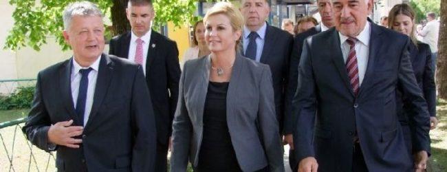 Predsjednica RH Kolinda Kolinda-Grabar Kitarović danas u Otočcu