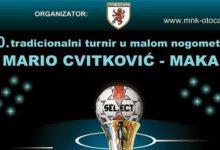 Raspored utakmica 10-tog Memorijalnog malonogometnog turnira Mario Cvitković-Maka