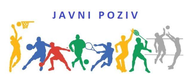 Objavljen javni poziv za sufinanciranje klubova i udruga u području sporta