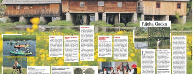 Nastavlja se uzlazni trend turističkih dolazaka i noćenja na području Otočca i Gacke