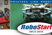 """Otočki robotičari na natjecanju """"RoboStart"""" Split 2018."""