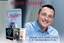 Bruno Šimleša sutra gost Narodne knjižnice Otočac