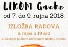 12. Likovna kolonija LIKOM GACKE