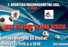 U nedjelju utakmica: MNK Otočac – MNK Siscia