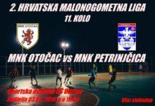 U nedjelju utakmica MNK Otočac – MNK Petrinjčica