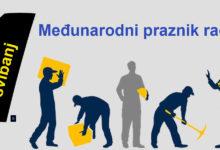 Čestitamo 1. svibanj, međunarodni praznik rada