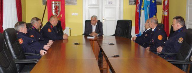 Gradonačelnik Kostelac primio predstavnike vatrogasne zajednice