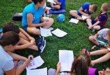 Društvene igre za djecu jučer u gradskom parku u Otočcu
