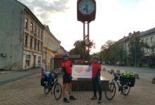 Ekstremna ekspedicija dvojice Otočana biciklima do Poljske