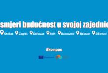 """Projekt """"Kompas"""" – Usmjeri budućnost u svojoj zajednici, 11.-13. listopada u Otočcu"""