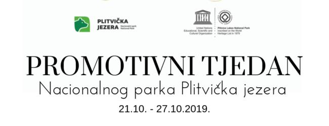 Promotivni tjedan u NP Plitvička jezera