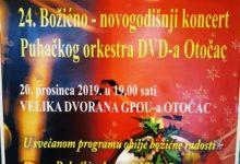 24. Božićno-novogodišnj koncert Puhačkog orkestra DVD-a Otočac