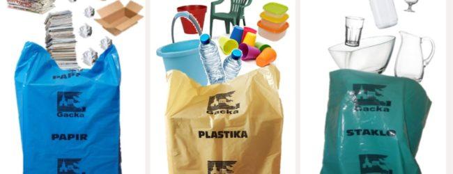 Odvoz primarne selekcije otpada 4. i 5. lipnja