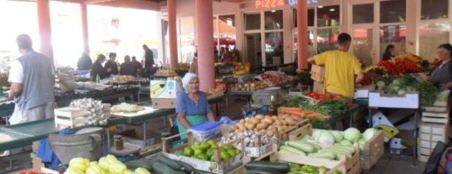 Obustava rada tržnica