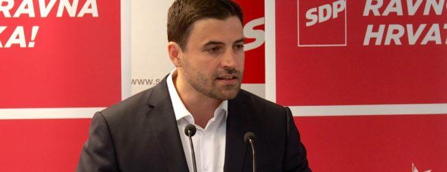Odgađa se dolazak predsjednika SDP-a Davor Bernardića