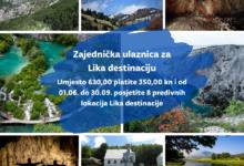 U ponudi Zajednička ulaznica za Lika destinaciju u NP-u Plitvička jezera