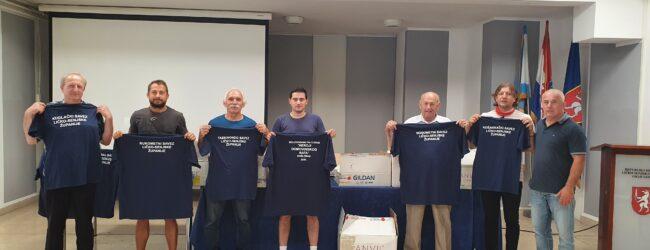 Predstavnicima sportskih saveza dodijeljene majice