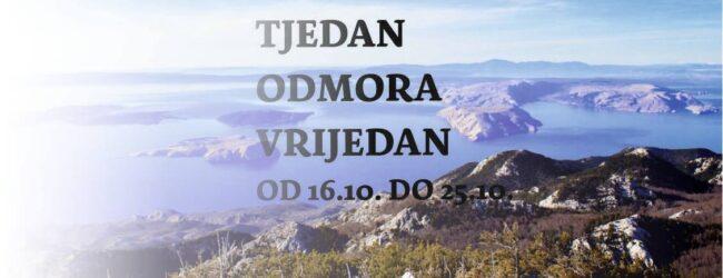 """Akcija """"TJEDAN ODMORA VRIJEDAN"""" u NP Sjeverni Velebit"""