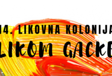Otvaranje izložbe radova 14. likovne kolonije LIKOM GACKE 2. listopada