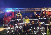 Fotogalerija: Otočki vatrogasci u Petrinji