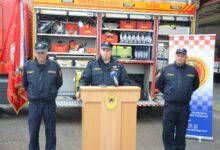 Održana konferencija za medije povodom nabave novog vatrogasnog vozila DVD-a Otočac