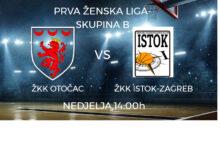 U nedjelju otočke košarkašice igraju protiv ŽKK Istok Zagreb