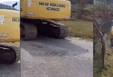 Evo kako stroj Branislava Šutića uništava asfalt u Švici!