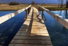 """Obnovljen drveni most kod hotela """"Gacka"""""""