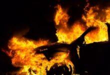 Na parkiralištu u Senju zapaljen teretni automobil