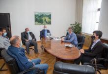 Župan Milinović ugostio predstavnike Atletskog kluba Velebit 2001