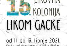 Likom Gacke od 11. – 13. lipnja