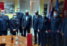 Gradonačelnik Kostelac povodom Sv. Florijana primio vatrogasce