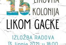 GPOU Otočac domaćin je 15. likovnoj koloniji LIKOM GACKE