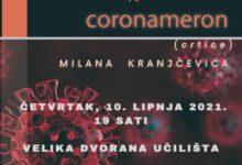 """Predstavljanje knjige """"Coronameron"""" autora Milana Kranjčevića"""