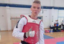 Ivan Žubrinić osvojio 3. mjesto na taekwondo prvenstvu Hrvatske 2021.