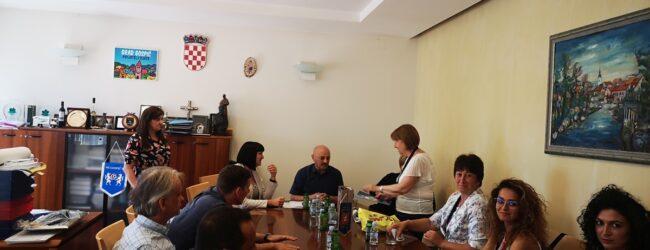 RAISE Youth: Predstavnici Bugarske regije Pernik na prijemu kod gradonačelnika Gospića