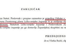 Županijski odbor na čijem je čelu Vlatka Ružić podržao devastaciju Gacke!