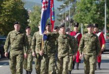 Svečano obilježen dan osnivanja 133. brigade Otočac!