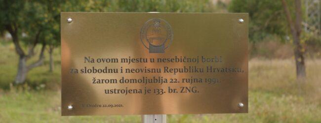 Obilježen dan osnivanja 133. brigade ZNG-a