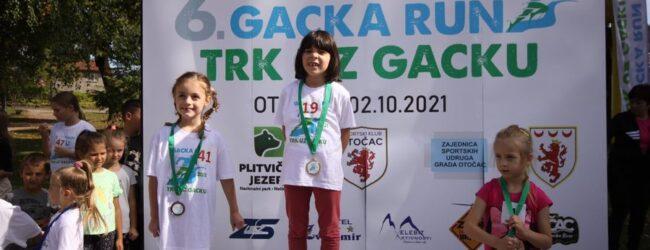 Održan 6. Gacka Run za najmlađe